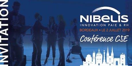 Conférence Nibelis Bordeaux - juin billets