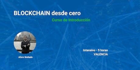Curso de introducción a Blockchain y Negocios entradas