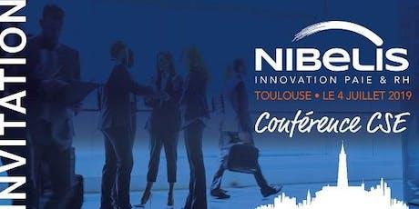 Conférence Nibelis Toulouse - juin billets