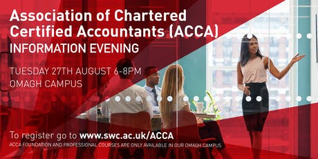 ACCA Information Evening tickets