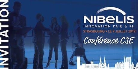 Conférence Nibelis Strasbourg - juin billets