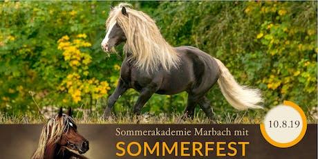SOMMERAKADEMIE PFERDEFOTOGRAFIE - mit Sommerfest Tickets