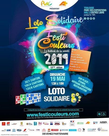 Loto Solidaire du Festi'Couleurs