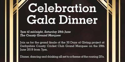 Celebration Gala Dinner | 30 Days of Giving - Single Ticket
