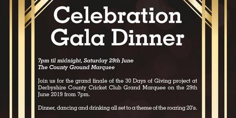 Celebration Gala Dinner | 30 Days of Giving - Single Ticket tickets