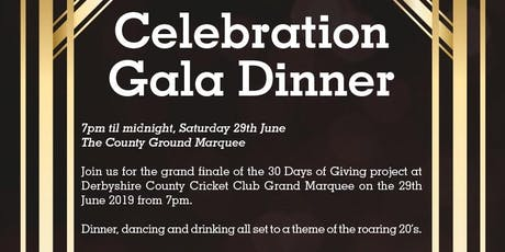 Celebration Gala Dinner | 30 Days of Giving - Table of 10 Ticket tickets