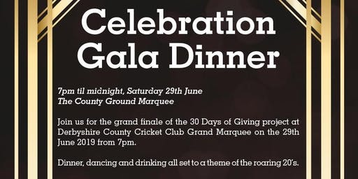 Celebration Gala Dinner | 30 Days of Giving - Table of 10 Ticket