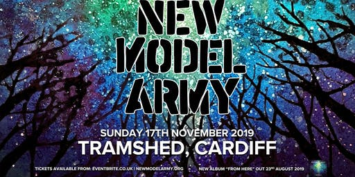 New Model Army (Tramshed, Cardiff)