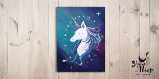 Sip & Paint @ SOULed OUT Ampang : Magical Unicorn