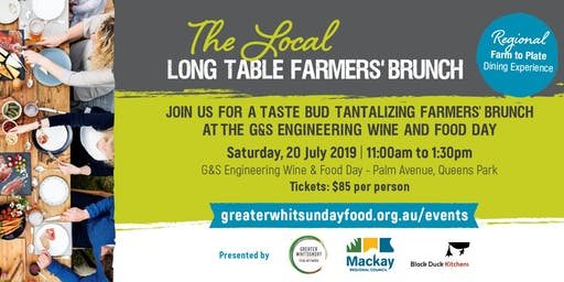 The Local Long Table Farmers' Brunch - Farm to Plate