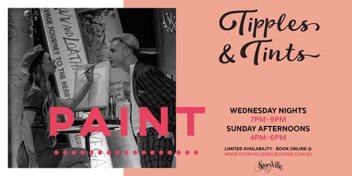 Storyville presents Tipples & Tints