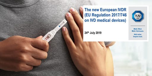 The new European IVDR  (EU Regulation 2017/746 on IVD medical devices)
