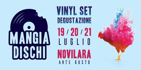 Vinyl set Degustazione - Mangia Dischi biglietti