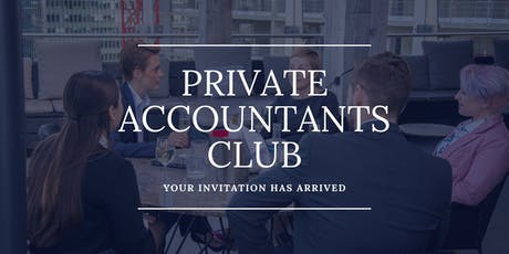 Private Accountants Club - Canary Wharf June Event tickets