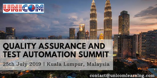 Quality Assurance and Test Automation Summit 2019