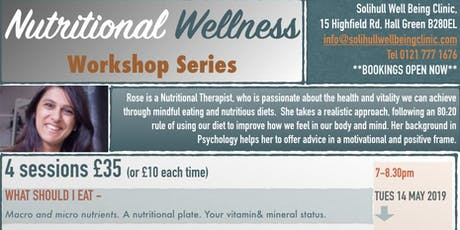 Nutrition for Health and Well Being tickets