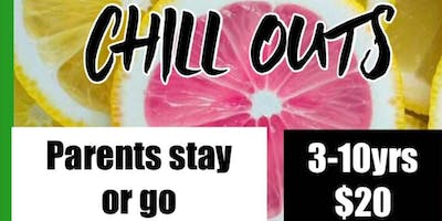 Saturday night CHILL OUT- MAY 25th. $20 parents go or stay