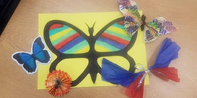 Butterfly Fun! (Coal Clough) #halftermfun