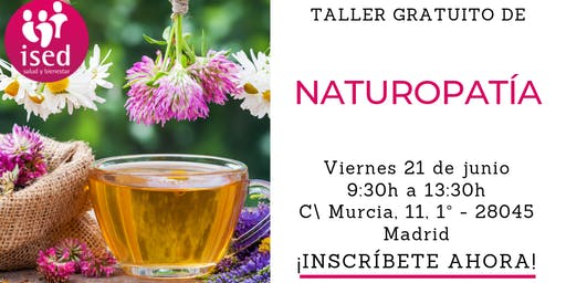 Taller de Naturopatía 21 de junio