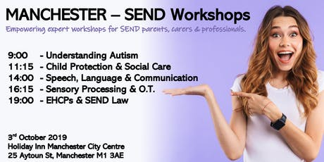 MANCHESTER - Special Educational Needs Workshops tickets