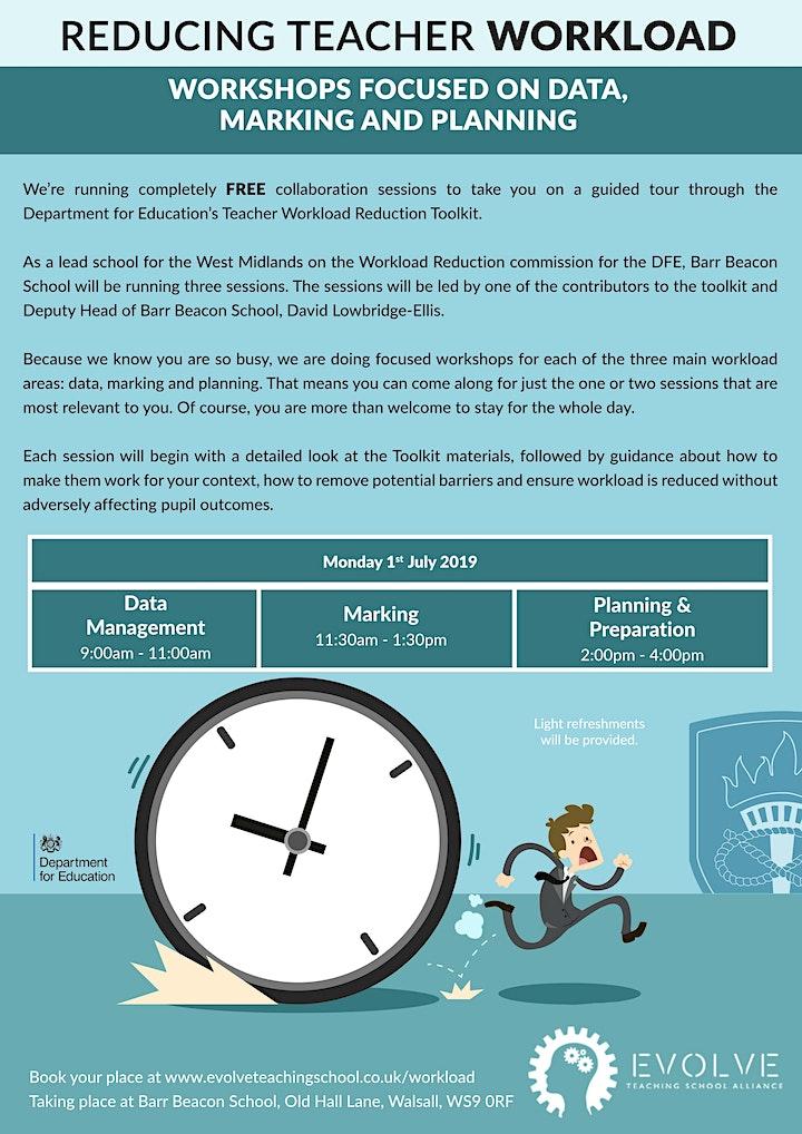 Reducing Teacher Workload Workshops image