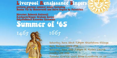 Summer of '65 with the Liverpool Renaissance Singers