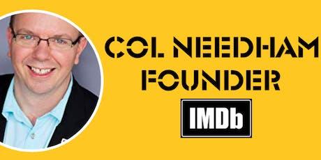 Col Needham | Founder of IMDb talk @ Runway East tickets
