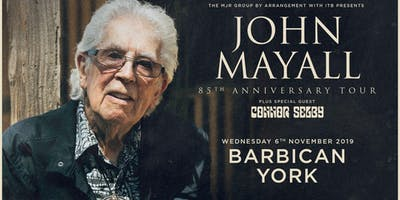 John Mayall - 85th Anniversary Tour (Barbican, York)