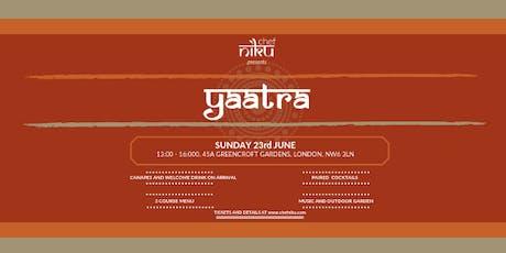 **SOLD OUT** Chef Niku presents Yaatra (Supper Club) tickets