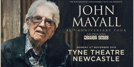John Mayall - 85th Anniversary Tour (Tyne Theatre, Newcastle) tickets