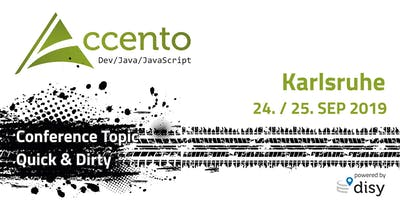 Accento Conference 2019 - Dev/Java/JavaScript