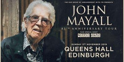 John Mayall - 85th Anniversary Tour (Queen's Hall, Edinburgh)