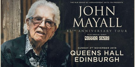 John Mayall - 85th Anniversary Tour (Queen's Hall, Edinburgh) tickets