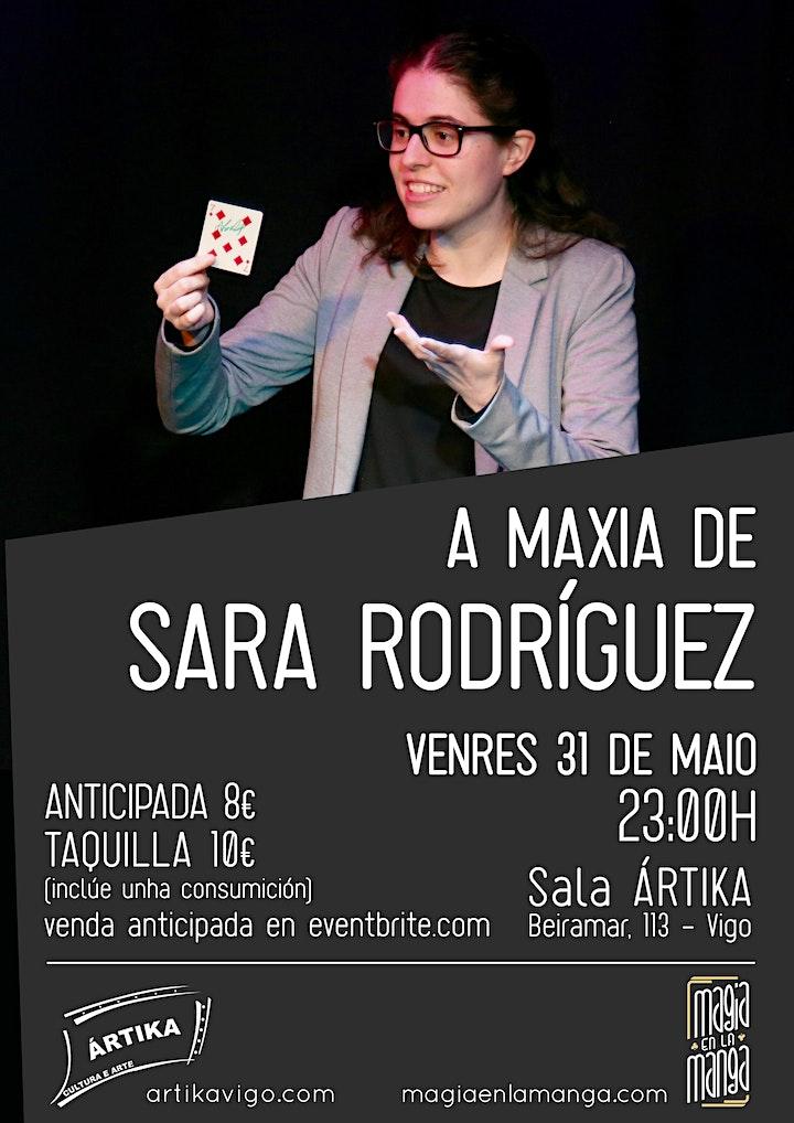 Imagen de LA MAGIA DE SARA RODRÍGUEZ de Magia en la Manga na Sala Ártika