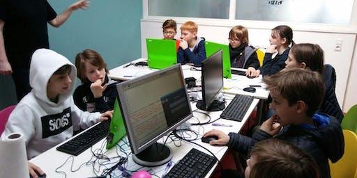 Code+English für Kids in den Sommerferien 2019 (9-12 Jahre)