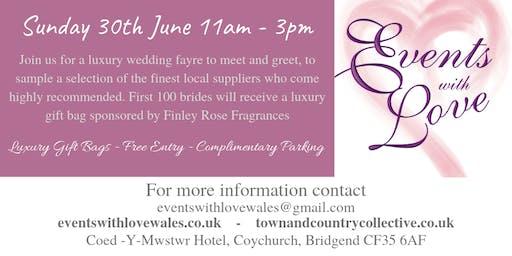 Luxury Wedding Fayre At The Coed-Y-Mwstwr Hotel Br