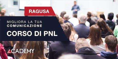 CORSO GRATUITO DI PNL A RAGUSA biglietti