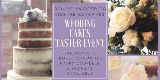 Wedding Cake Taster Event