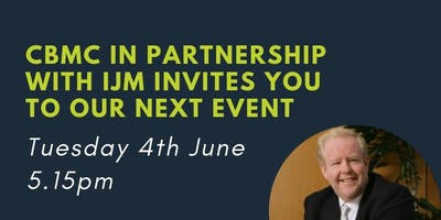 CBMC June event with Paul Newton