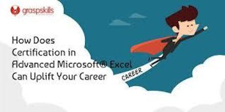 Advanced microsoft excel training and certification IN CAIRO tickets