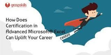 Advanced microsoft excel certification IN CAIRO tickets