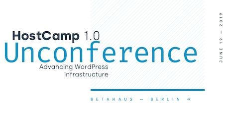 HostCamp 1.0 tickets
