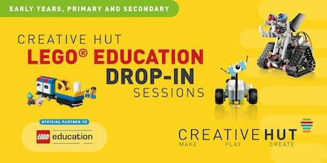 CreativeHUT – LEGO Education - STEAM Teacher Drop-In Sessions tickets