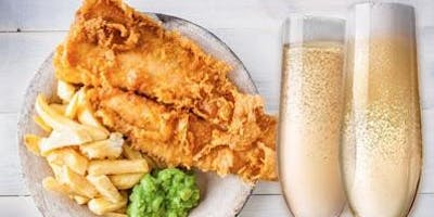 Champagne, Sparkling Wine & Fish and Chips