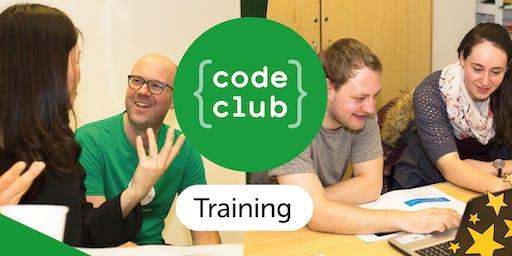 Code Club Volunteer Training Session: Aspire Sussex, Littlehampton
