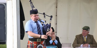Cowal Highland Gathering -Solo Piping Competitions - Friday 30th Aug 2019