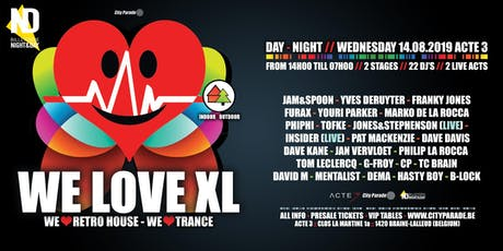 We Love Retro House XL :: Indoor/Outdoor :: Day/Night billets
