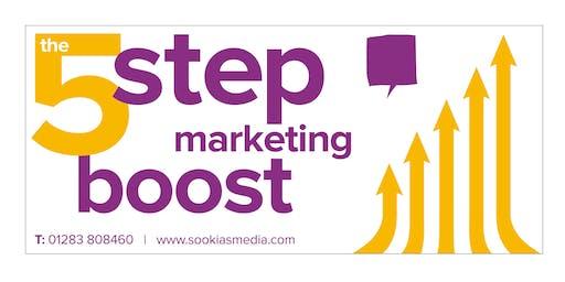 5 Step Marketing Boost Workshop - 19 June 2019