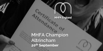 Mental Health Champion - Altrincham - ***** One Day