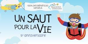 Un saut pour la Vie : 5e anniversaire